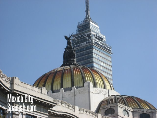 Bellas Artes and Torre Latinoamericana